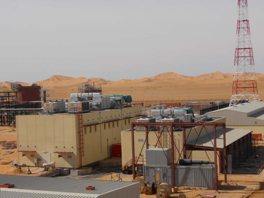 CHT Project, Rhorde Nouss, Algeria
